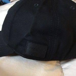 6015140d374 Coach Varsity C Black Cap Hat Adjustable